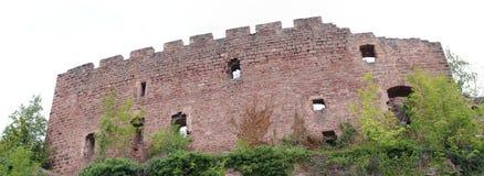 Schloss von Ottrott Stockbild