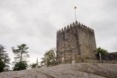 Schloss von PÃ-³ voa de Lanhoso lizenzfreie stockfotografie