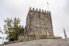 Schloss von PÃ-³ voa de Lanhoso lizenzfreie stockfotos