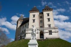 Schloss von Pau lizenzfreies stockbild