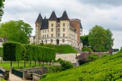 Schloss von Pau-Stadt in Frankreich stockfotografie