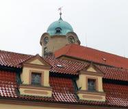 Schloss von Podebrady Lizenzfreie Stockfotos