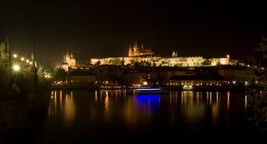 Schloss von Prag Stockfotografie
