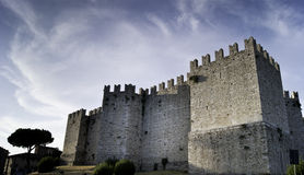 Schloss von Prato Lizenzfreies Stockbild