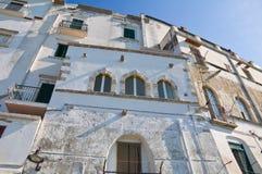 Schloss von Rodi Garganico. Puglia. Italien. Stockbild