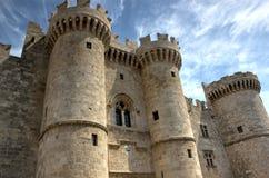 Schloss von Rodos Lizenzfreie Stockbilder