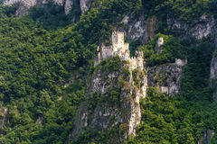 Schloss von Salorno Lizenzfreie Stockfotografie