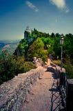 Schloss von San Marino Lizenzfreie Stockfotos