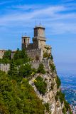 Schloss von San Marino - Italien Lizenzfreie Stockbilder