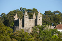 Schloss von Santa Maria da Feira - Portugal lizenzfreie stockbilder