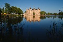 Schloss von Schwerin. Lizenzfreies Stockbild