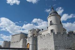 Schloss von Simancas, Valladolid, Spanien Lizenzfreies Stockbild