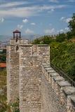 Schloss von Skopje stockfotos