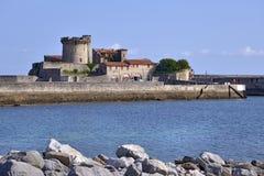 Schloss von Socoa bei Cibourre in Frankreich Stockfoto