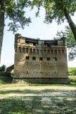 Schloss von Stellata Stockfotografie