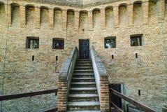 Schloss von Stellata Lizenzfreies Stockfoto