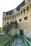Schloss von Stellata Stockbild