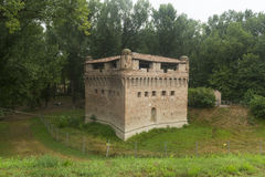 Schloss von Stellata (Ferrara) Stockbilder