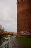 Schloss von Swiecie Stockbild