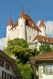 Schloss von Thun lizenzfreie stockbilder