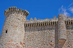 Schloss von Torija Stockfoto