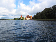 Schloss von Trakai Stockfotografie