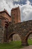 Schloss von Trakai litauen Lizenzfreie Stockfotos