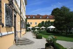 Schloss von Tutzing Stockfotos