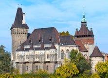 Schloss von Vajdahunyad Lizenzfreies Stockfoto