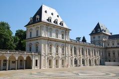 Schloss von Valentino, Turin stockbild