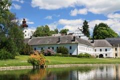 Schloss von Velke Losiny (Tschechische Republik) Lizenzfreie Stockfotos