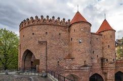 Schloss von Warschau Lizenzfreies Stockbild