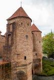 Schloss von Warschau Stockfotografie