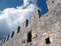 Schloss-Wände Stockfotografie