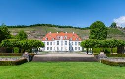 Schloss Wackerbarth,拉德博伊尔 图库摄影