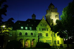Schloss Waldthausen dans Budenheim Photo stock