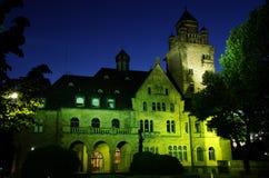 Schloss Waldthausen w Budenheim Zdjęcie Stock