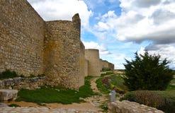 Schloss-Wand Lizenzfreies Stockbild