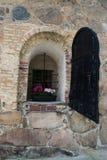 Schloss-Wand, Haus Stockfoto