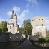 Schloss in Wijk-bij duurstede Stockfoto