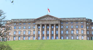 Schloss Wilhelmshohe Museum. A neoclassical Palace located in Bad Wilhelmshohe, a part of Kassel, Germany. It was built for Landgrave Wilhelm (William) IX of Stock Images