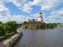 Schloss Wyborgs, Wyborg Lizenzfreies Stockfoto