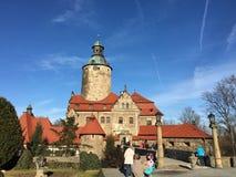 Schloss Zamek Czocha Stockfotografie