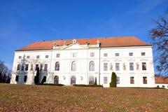 Schloss - Zidlochovice Stockbilder