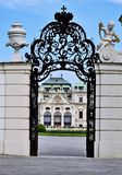Schlossbelvedere Wien Royalty-vrije Stock Fotografie