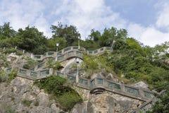 Schlossberg or Castle Hill mountain in Graz, Austria royalty free stock photo