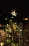 Schlossberg et tour d'horloge dedans Image libre de droits