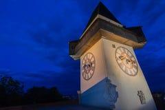 The Schlossberg. In Graz,Austria Stock Photo