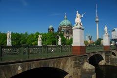 Schlossbrücke Berlin, Germany Royalty Free Stock Photo