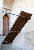 Schlosseingangsgatter Stockfotografie